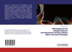 Bookcover of Минералогия миароловых пегматитов жилы Мика (Восточный Памир)