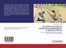 Capa do livro de The effect of credit on agribusiness Development in Northern Ghana