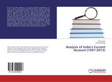 Couverture de Analysis of India's Current Account (1991-2013)