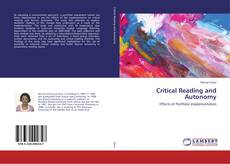 Bookcover of Critical Reading and Autonomy