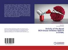 Bookcover of Activity of the Novel BCR Kinase Inhibitor IQS019 in B-NHL