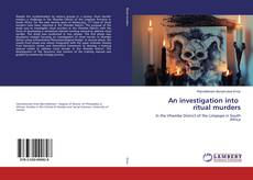 Bookcover of An investigation into ritual murders