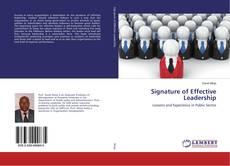Portada del libro de Signature of Effective Leadership