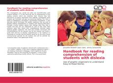 Copertina di Handbook for reading comprehension of students with dislexia