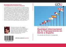 Copertina di Realidad internacional de la Transparencia en torno a España