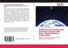 Portada del libro de Gobernanza Ambiental Estudio comparado Rep. Dominicana y Costa Rica