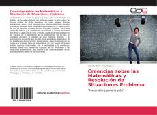 Portada del libro de Creencias sobre las Matemáticas y Resolución de Situaciones Problema