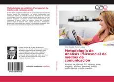 Metodología de Análisis Psicosocial de medios de comunicación kitap kapağı