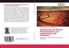 Portada del libro de Evaluación de Daños Posdesastres con Información de Satélites