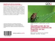 Portada del libro de Identificación de los principales órdenes de insectos en los cultivos