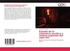 Portada del libro de Estudio de la Literatura ascética y mística española del siglo XVI