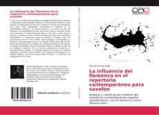 Portada del libro de La influencia del flamenco en el repertorio contemporáneo para saxofón