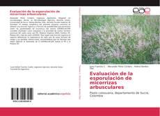 Portada del libro de Evaluación de la esporulación de micorrizas arbusculares