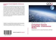 Capa do livro de Complejo Taenia Saginata- Cisticercus Bovis