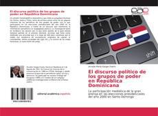 Portada del libro de El discurso político de los grupos de poder en República Dominicana