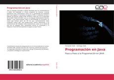 Capa do livro de Programación en Java