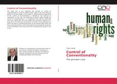 Bookcover of Control of Conventionality