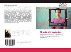Buchcover von El arte de enseñar