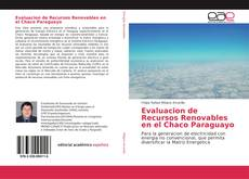 Portada del libro de Evaluacion de Recursos Renovables en el Chaco Paraguayo