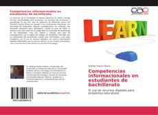 Portada del libro de Competencias informacionales en estudiantes de bachillerato