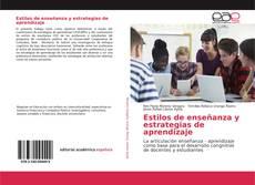 Bookcover of Estilos de enseñanza y estrategias de aprendizaje