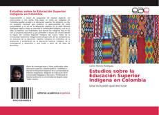 Capa do livro de Estudios sobre la Educación Superior Indígena en Colombia