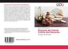 Copertina di Ensayos de Teoría Crítica del Derecho