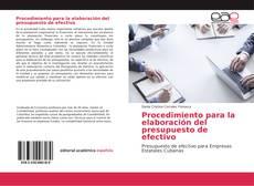 Обложка Procedimiento para la elaboración del presupuesto de efectivo