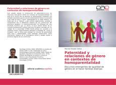 Couverture de Paternidad y relaciones de género en contextos de homoparentalidad