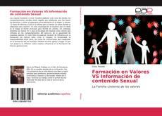 Couverture de Formación en Valores VS Información de contenido Sexual