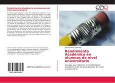 Buchcover von Rendimiento Académico en alumnos de nivel universitario