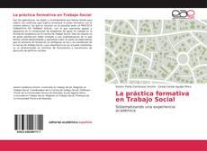Portada del libro de La práctica formativa en Trabajo Social