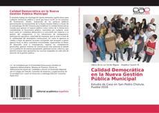 Calidad Democrática en la Nueva Gestión Pública Municipal的封面