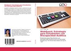 Buchcover von WebQuest: Estrategia para Estudiantes con Discapacidad Auditiva