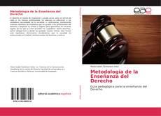 Portada del libro de Metodología de la Enseñanza del Derecho