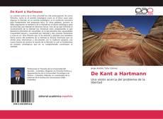 Capa do livro de De Kant a Hartmann