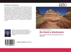 Bookcover of De Kant a Hartmann