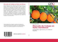 Buchcover von Mercado de trabajo en Italia meridional