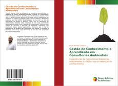 Bookcover of Gestão de Conhecimento e Aprendizado em Consultorias Ambientais