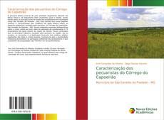 Capa do livro de Caracterização dos pecuaristas do Córrego do Capoeirão