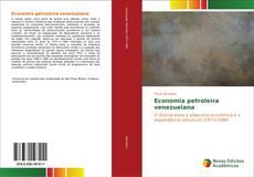 Capa do livro de Economia petroleira venezuelana