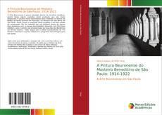 Capa do livro de A Pintura Beuronense do Mosteiro Beneditino de São Paulo: 1914-1922