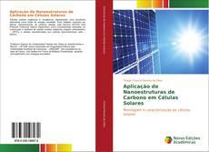 Buchcover von Aplicação de Nanoestruturas de Carbono em Células Solares