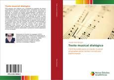 Texto musical dialógico kitap kapağı