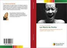 Lei Maria da Penha的封面