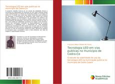 Bookcover of Tecnologia LED em vias publicas no município de Cedro-Ce