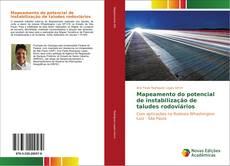 Mapeamento do potencial de instabilização de taludes rodoviários kitap kapağı