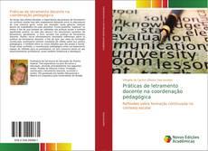 Capa do livro de Práticas de letramento docente na coordenação pedagógica