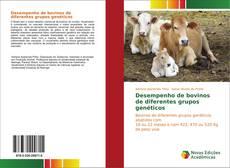 Capa do livro de Desempenho de bovinos de diferentes grupos genéticos