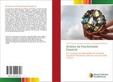 Capa do livro de Análise da Flexibilidade Espacial